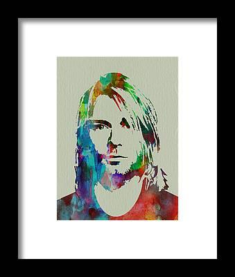 Nirvana Framed Prints