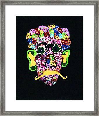 Kurt Vonnegut Jr. Framed Print