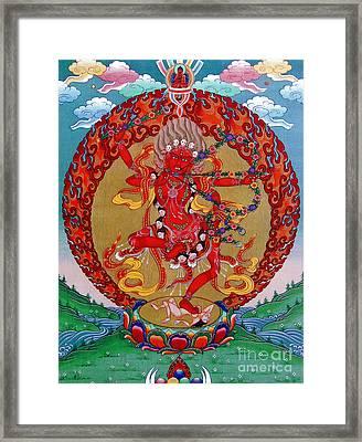 Kurukula Framed Print