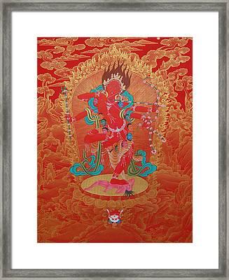 Kurukulla Framed Print by Binod Art School