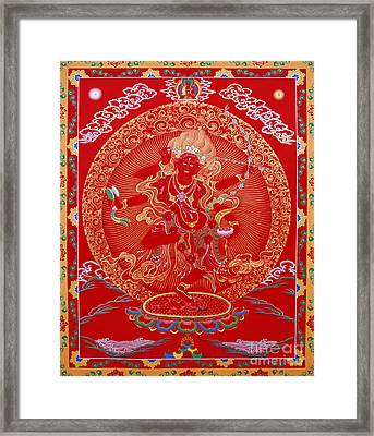 Kurukulle Devi Framed Print by Sergey Noskov