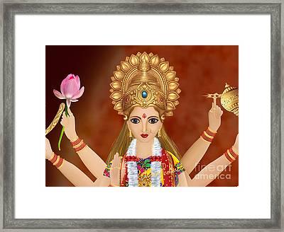Kushmanda Framed Print