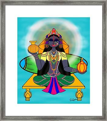 Kushmanda Framed Print by Pratyasha Nithin