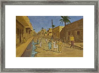 Kut Iraq Framed Print by Julia Collard