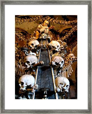 Framed Print featuring the photograph Kutna Hora Cz by Michelle Dallocchio