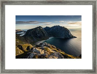 Kvalvika Beach Framed Print
