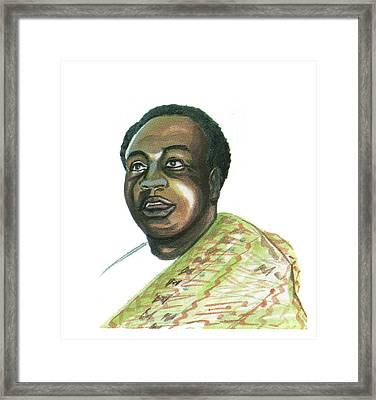 Kwame Nkrumah Framed Print