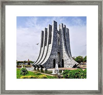 Kwame Nkrumah Memorial Park Framed Print by Felix Lipov