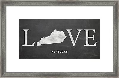 Ky Love Framed Print by Nancy Ingersoll