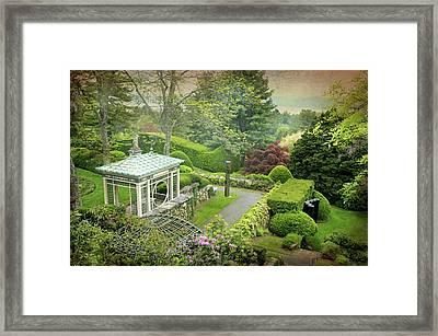 Kykuit Garden Framed Print