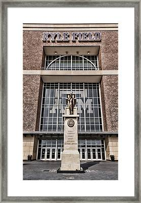 Kyle Field Framed Print by Stephen Stookey