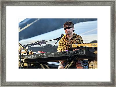 Kyle Hollingsworth With The String Cheese Incident Framed Print