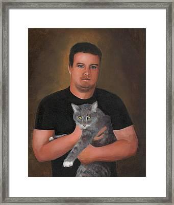Kyle Framed Print