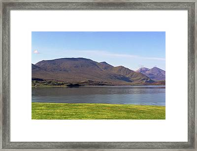 Kyle Of Durness Framed Print by Bruce C