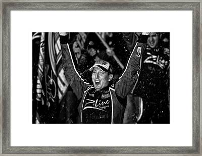 Kyle Wins Framed Print