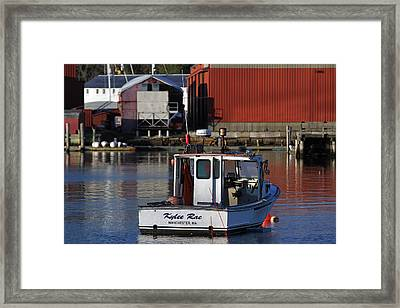 Framed Print featuring the photograph Kylee Rae by Juergen Roth