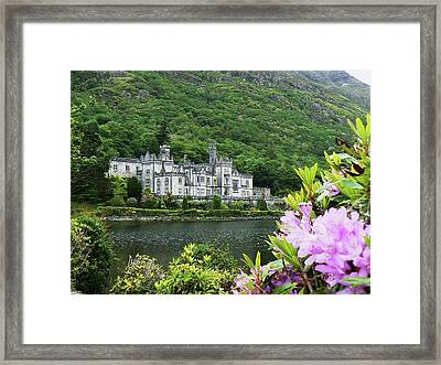 Kylemore Abbey Co Galway Framed Print by Martina Fagan