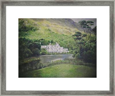 Kylemore Abbey Framed Print by Cynthia Satton