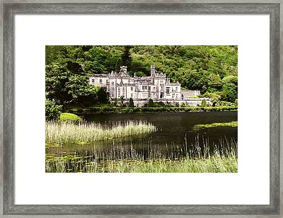 Kylemore Abbey Victorian Ireland Framed Print by Menega Sabidussi