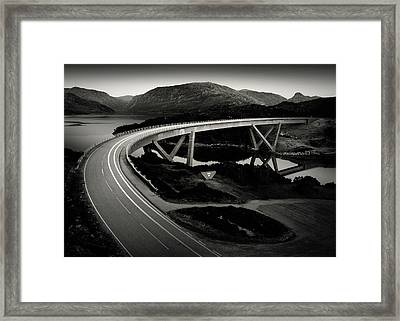 Kylesku Bridge Framed Print