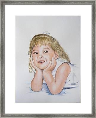 Kylie Newkirk Framed Print