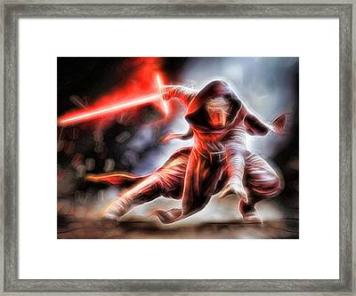 Kylo Ren I Will Fulfill Our Destiny Framed Print