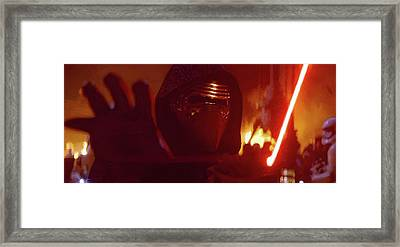 Kylo Ren Framed Print by Mitch Boyce
