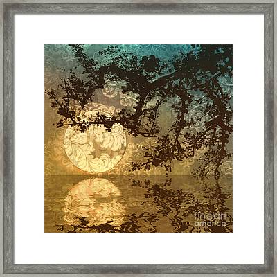 Kyoto Sun Framed Print by Mindy Sommers