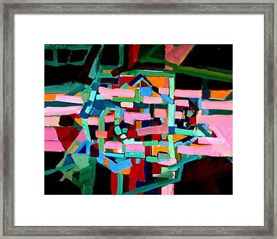 L A Landscape Framed Print by Paul Freidin