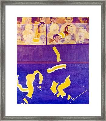 L A Framed Print by Ken Yackel