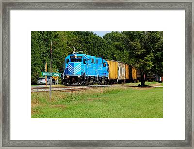 L C Blue 2 Framed Print