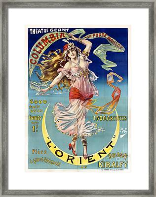 L' Orient Framed Print