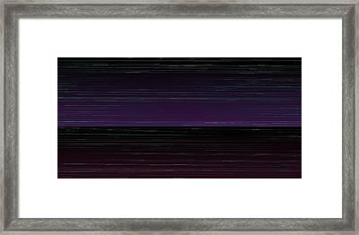 L17-34 Framed Print by Gareth Lewis
