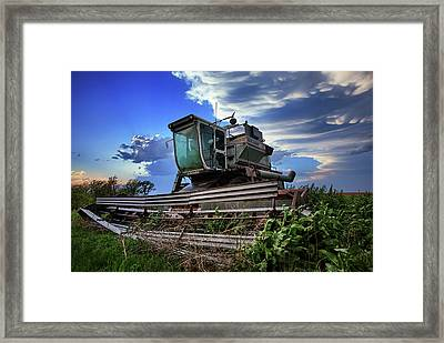 L2 Framed Print by Thomas Zimmerman