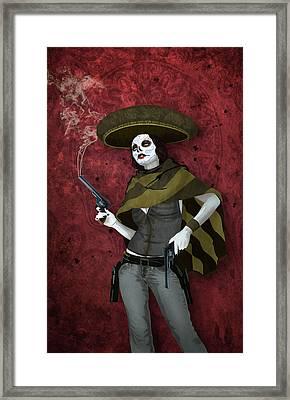 La Bandida Muerta Framed Print