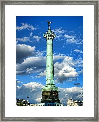 La Bastille Framed Print by Roberto Alamino