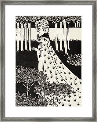 La Beale Isolde Framed Print