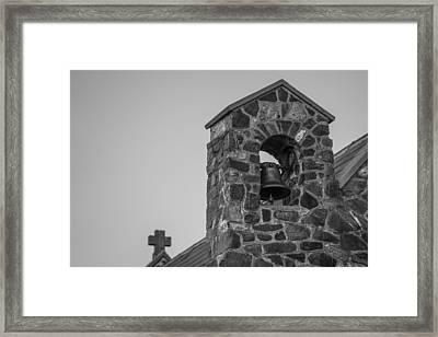La Bella Campana Framed Print by Ian Riddler
