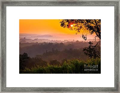 La Bella Toscana Framed Print by Inge Johnsson