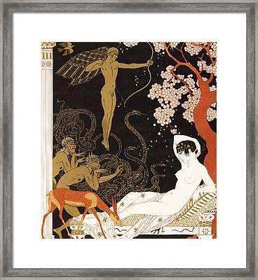 La Belle Helene Framed Print