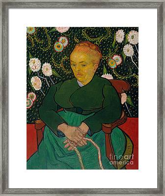 La Berceuse, 1889  Framed Print