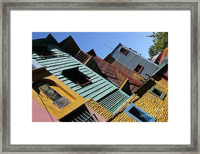 Framed Print featuring the photograph La Boca by Wilko Van de Kamp