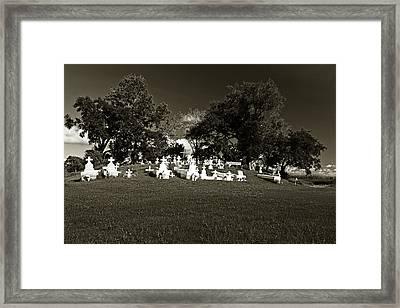 La Butte Framed Print by Scott Pellegrin