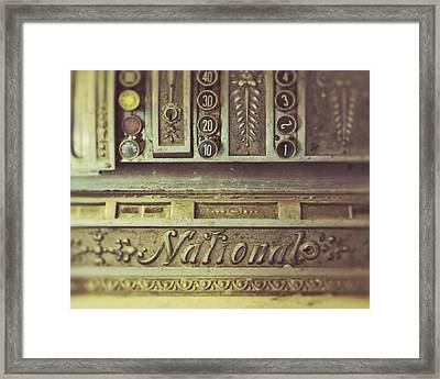 La Caisse Framed Print by Studio Yuki