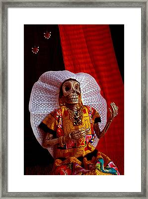 La Calavera Catrina - Day Of The Dead Framed Print