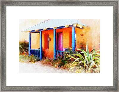 La Casa Del Gato Framed Print by Lois Bryan
