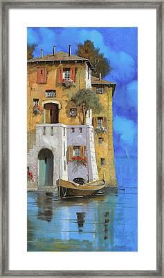 La Casa Sull'acqua Framed Print