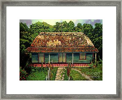 La Casita Framed Print