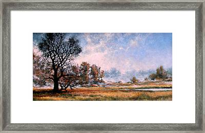 La Center Bottoms - Summer Framed Print