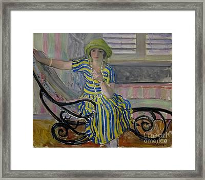 La Cigarette Framed Print by Celestial Images